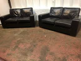 next black leather sofa suite delivery