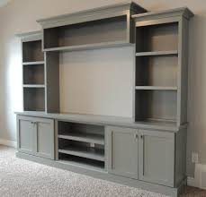 Wall Units, Media Room Built In Cabinets Built In Media Wall Units Family  Room With
