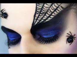 spider black widow makeup