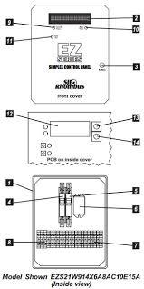 sje rhombus sje rhombus ez series simplex pump control panel sje rhombus ez series® single phase simplex pump control panel components