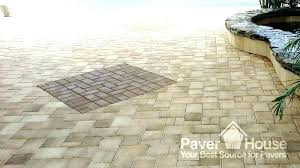 pool deck travertine pavers cost silver