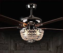 fan chandelier. crystal chandelier ceiling fan combo more pinterest
