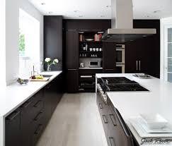 Black And White Modern Kitchen Jack Rosen Custom Kitchens Black And White Modern Kitche Flickr