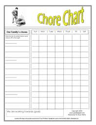 chore chart template for teenagers sheila seifert ma is the editorial director of parenting content for