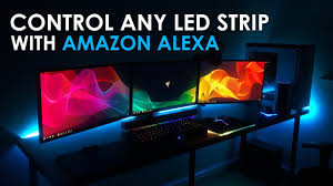 Light Strips That Work With Alexa Control Any Led Light Strip With Amazon Alexa Amazon Echo Echo Dot Echo Plus