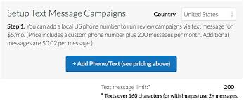 note that you can also set a monthly text message limit that will automatically prevent sending further texts after reaching that number in a given month