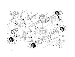 craftsman lawn mower parts model 917388820 sears partsdirect find part by diagram >