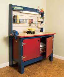 kid sized workbench for your diy child