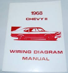 68 1968 chevy nova electrical wiring diagram manual image is loading 68 1968 chevy nova electrical wiring diagram manual