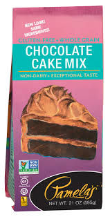 pamela s chocolate cake mix produces a dark moist rich and delicious chocolate cake that satisfies everyone whether they are gluten free or not