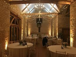 barn wedding lighting. Fairy Lighting \u0026 Upligting Barn At Upcote Wedding