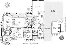 e level open floor house plans pleasant design open ranch house