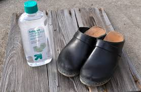 frugal friday shine shoes with baby oil