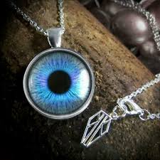 glass eye human doll blue eyeball