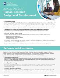 Experience Centered Design Bachelor Of Science Human Centered Design And Development By