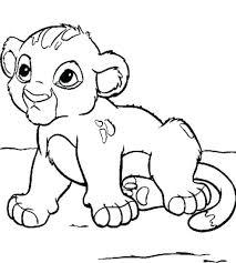 Baby Animals Coloring Sheets Printable Cute Baby Animal Coloring