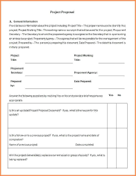Free Project Proposal Template Word – Mklaw