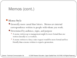 Memo Letter Writing A Memo Letter And E Mail
