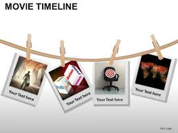 Movie Powerpoint Template Powerpoint Templates Process Movie Timeline Ppt Design