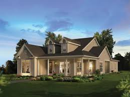 modern country style house plans with wrap around porches