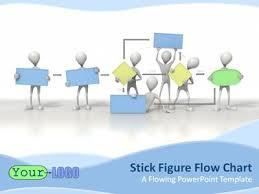 Ppt Flowchart Template Stick Figure Flowchart A Powerpoint Template From Presentermedia Com