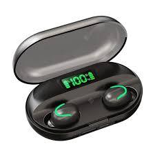 C1 <b>Bluetooth Wireless TWS5</b>.<b>0</b> Touch Waterproof HIFI Sports Digital ...