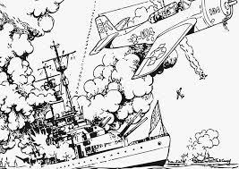 Kleurplaat Oorlog Op Zee Afb 12802 Images