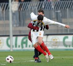 Luigi Giorgi of Ascoli and Ivan Castiglia of Reggina in action during...  News Photo - Getty Images