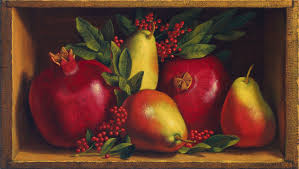 denise mickilowski fruit and vegetable paintings