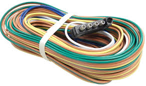 35 wire harness 5 way flat trailer end connector 48 ground 35 wire harness 5 way flat trailer end connector 48 ground wire 60 auxiliary wire for back up solenoid