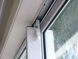 sliding door lock installation sliding glass