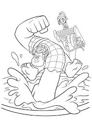 Trendy It Coloring Pages Wreck Ralph Explore And Clown Color Do