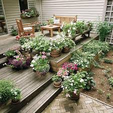 Small Picture Garden Design Garden Design with Ideas For Deck With Furniture