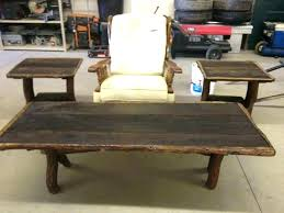 rustic end tables and coffee at wedding for hire best ideas on throughout table set rustic end tables wood pine oak sofa coffee