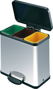 Recycle Bins For Home Interesting Recycling Containers For Home With Triple Chrome Recycling Bins