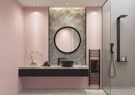in today s blog post master bathroom remodeling expert dreammaker bath kitchen of elizabethtown explains how pink bathrooms became a quintessential part