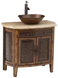 36 rustico single vessel sink bath vanity