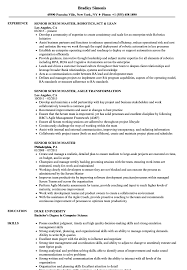 Senior Scrum Master Resume Samples Velvet Jobs