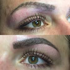 photo of the brow bar san antonio tx united states before and