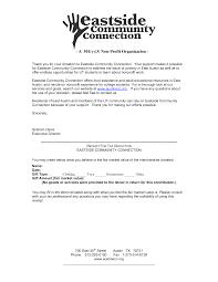 Free Sample Donation Request Letter Non Profit Ideas Church