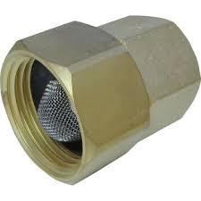 general pump d10016 garden hose ing with screen 3 4 x 1 2 npt f
