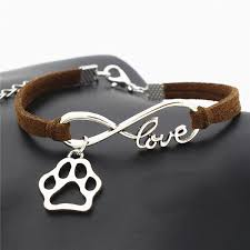 infinity love bracelet. antique silver leather infinity love bracelet a