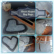 heart shaped rugs the secret to crocheting flat circular oval or rag every time farm herbs