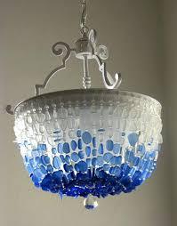 sea glass chandelier like this item sea glass chandelier corbett lighting