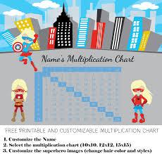100x100 Multiplication Chart Printable Free Custom Multiplication Chart Printable Customize Then