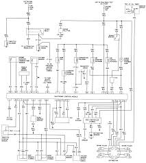 ford truck f ton p u wd l mfi ohv cyl repair 13 engine control wiring schematic 1981 265 301 and 301 turbocharged engines