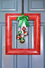 DIY Ornament Picture FramesChristmas Picture Frame Craft Ideas
