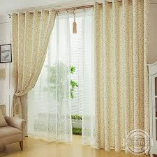 living room panel curtains. new arrival light yellow leaf print living room curtain two panels x has drapes panel curtains u