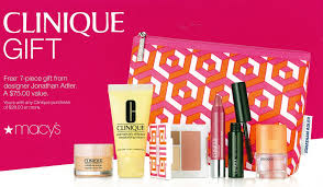 clinique s free 7 piece gift at macy s