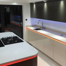 kitchen led lighting. LED Kitchen Spotlights And Strip Lights Kitchen Led Lighting